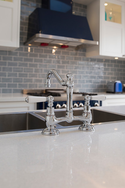 Hamptons Style Tapware in A Cronulla Kitchen Renovation in the Sutherland Shire