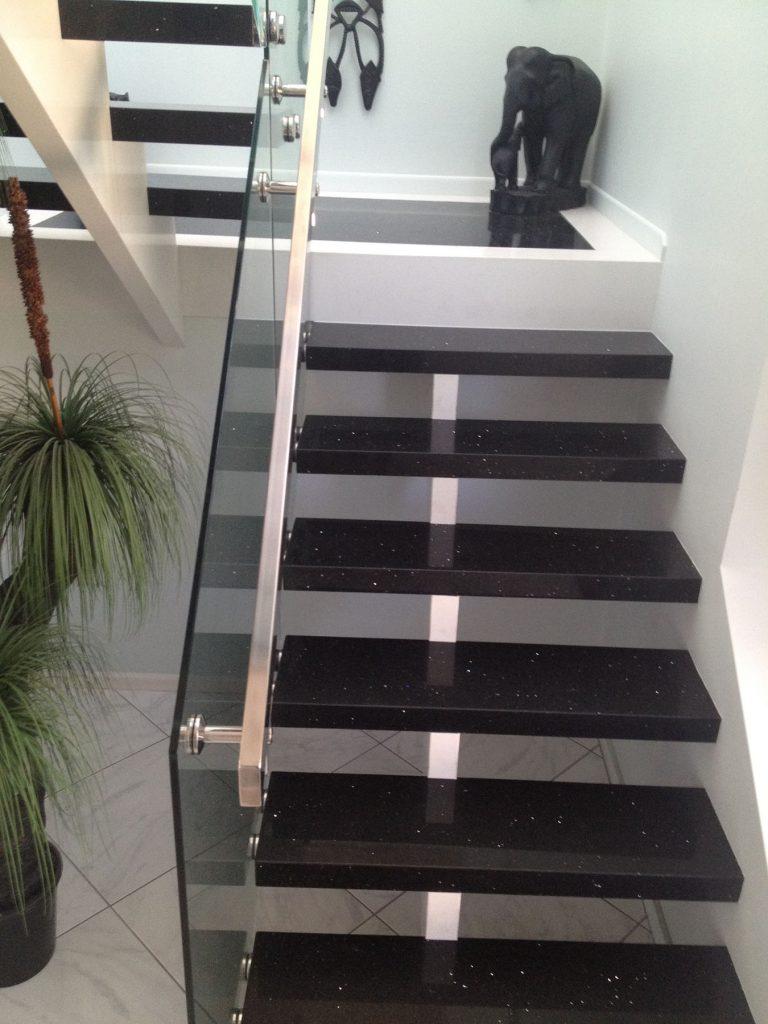 black granite staircase sydney