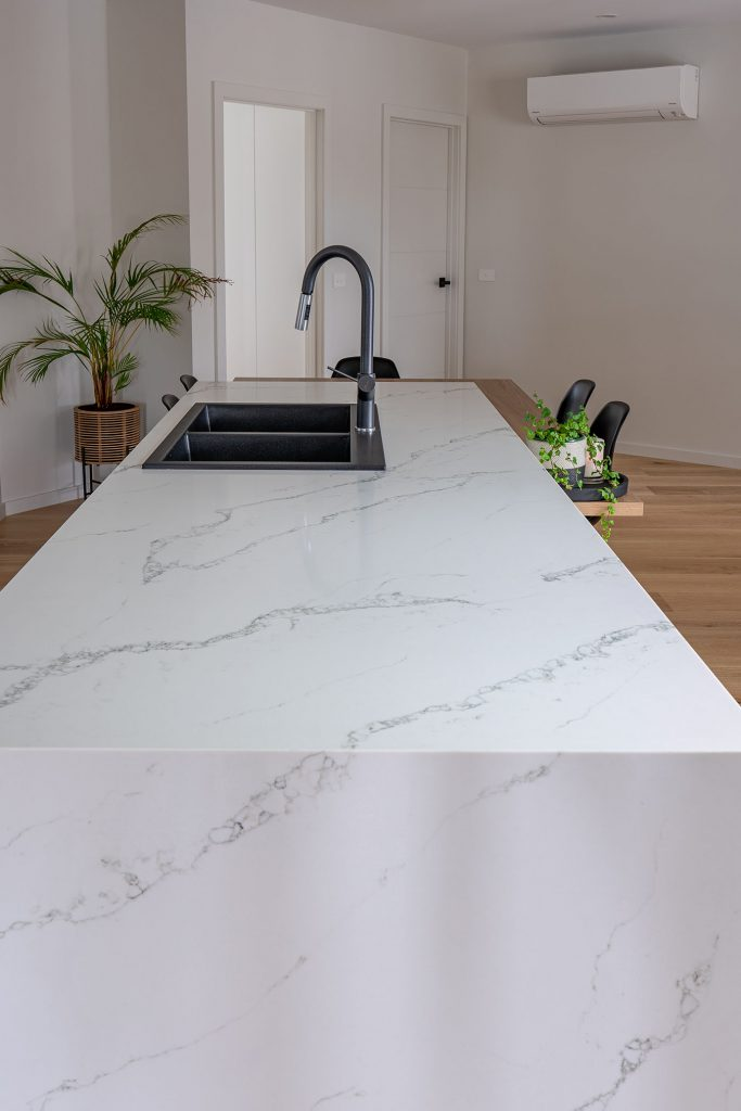 Budget Marble benchtop resurfacing Sydney