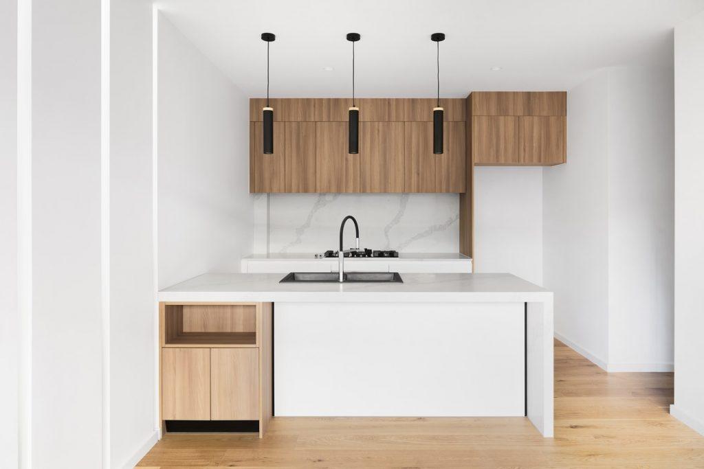 white and timber modern kitchen design ideas sydney