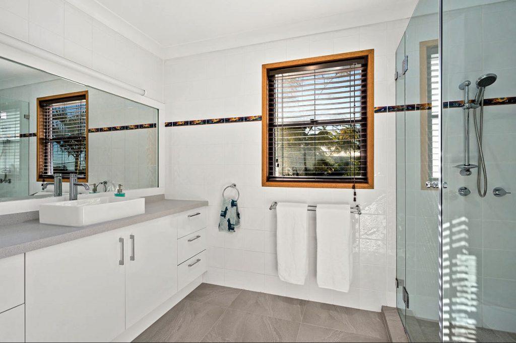 Bathroom Makeover Gymea With Granite Stone Vanity