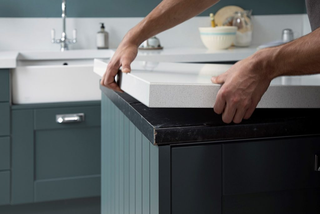 Benchtop resurfacing granite transformations kitchen renovation sydney