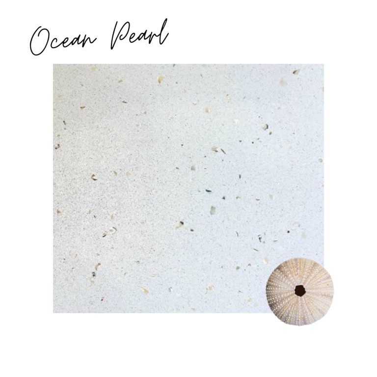 Ocean Pearl Shell Engineered Stone Benchtop