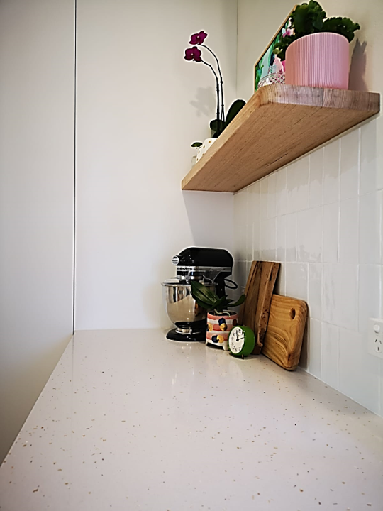 Beach Kitchen Benchtop With Shell