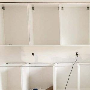 open cabinets 1